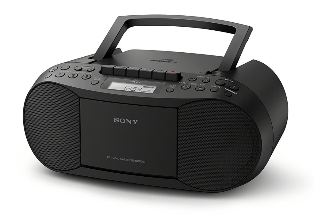 Sony Kassettenrecorder - Quelle: Sony - amazon.de
